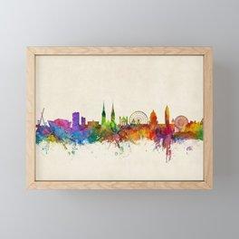 Belfast Northern Ireland Skyline Framed Mini Art Print