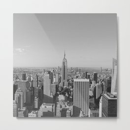 New York City Skyscrapers Metal Print