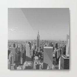 New York City Skyscrapers Metal Print