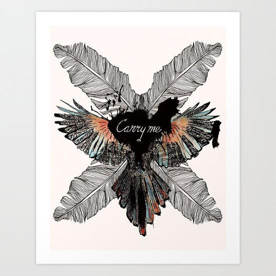 Carry Me Remix Art Print