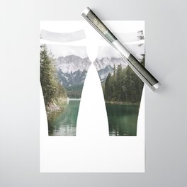 Looks like Canada - landscape photography Wrapping Paper