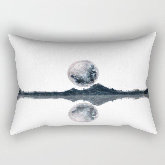 Caught Between the moon Rectangular Pillow