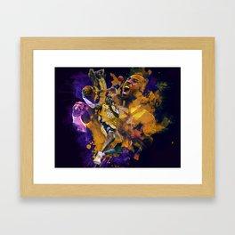 Lakers Legend Framed Art Print