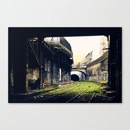 Gare Avenue de Saint-Ouen Canvas Print