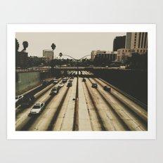 LA Art Print