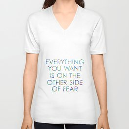 Everything You Want Unisex V-Neck