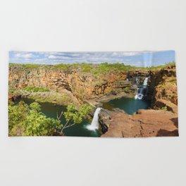 Mitchell Falls Beach Towel