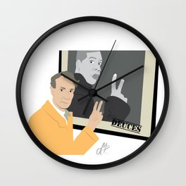 Bill Nye and the Jay Z Guy Wall Clock