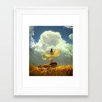 wind Framed Art Prints featuring Wind by Artem Rhads Cheboha