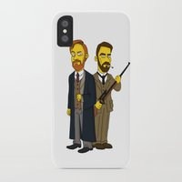 moriarty iPhone & iPod Cases featuring Moriarty & Moran by San Fernandez
