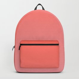Color Gradient Living Coral Ombre- Mix & Match with Simplicity of Life Backpack