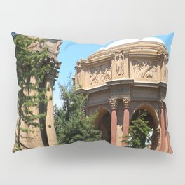 View Over The Lagoone To The Palace Of Fine Arts - San Francisco Pillow Sham