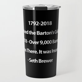 Barton's Collapse 2018 Travel Mug