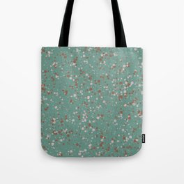 Jade with Terracotta + Pink Splatter Tote Bag