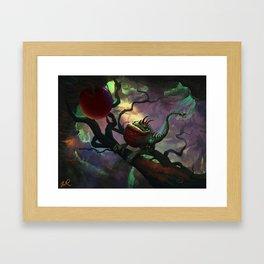 Cherrybelly dragonoid Framed Art Print