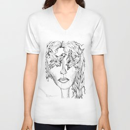 They Say Eyes Are Windows To Our Soul Unisex V-Neck