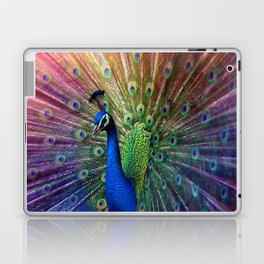 the peacock Laptop & iPad Skin