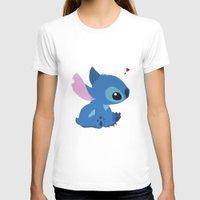 stitch T-shirts featuring Stitch by Stapanda
