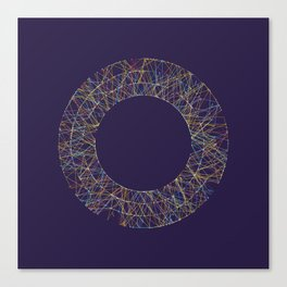 Generative Splines 1 Canvas Print