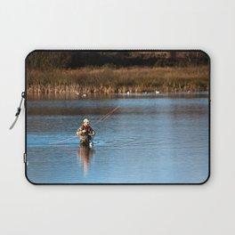Gone Fishing 3 Laptop Sleeve