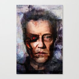 Christopher Walken Terminator Canvas Print