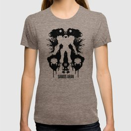 Samus Aran Metroid Geek Psychological Diagnosis Ink Blot  T-shirt