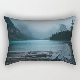 Foggy Moraine Rectangular Pillow