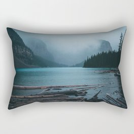 Foggy Moraine Rectangular Pillow