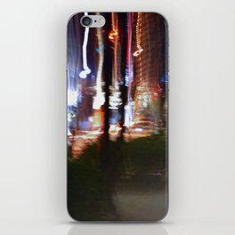 Winter Nights & City Lights iPhone Skin