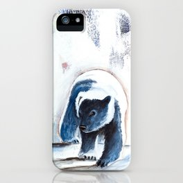 Bears - Don't be afraid, I'll show you the way... by LiliFlore iPhone Case