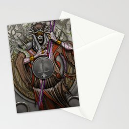 In the Halls of the Mage-King Stationery Cards