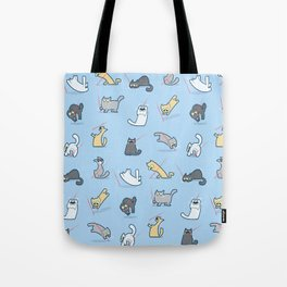 Cats vs Laserpointers Tote Bag