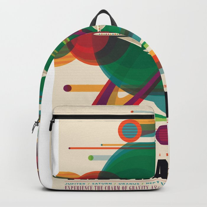 Grand Tour - NASA Space Travel Poster Backpack