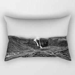 Misty waterfall Rectangular Pillow