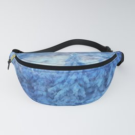 Magical winter forest Fanny Pack