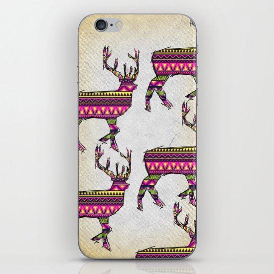Deer Navajos pattern iPhone & iPod Skin