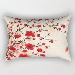 Oriental plum blossom in spring 006 Rectangular Pillow