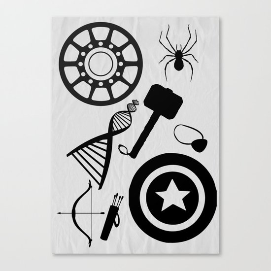 The Avengers Extended Canvas Print