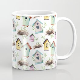 Birdhouses and nests Coffee Mug