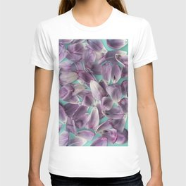 Purple Rose Petals x Ultraviolet T-shirt