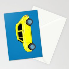 A tiny Fiat (blue) Stationery Cards