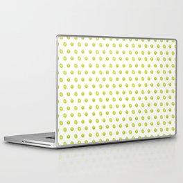 Lime Green Polka Dots Laptop & iPad Skin