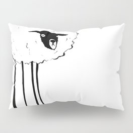 Creepy Sheep Pillow Sham