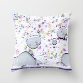 Glitter Bag Throw Pillow