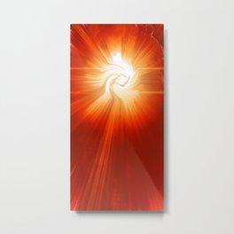 Energy Warp Metal Print
