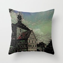 Bamberg Townhall Throw Pillow