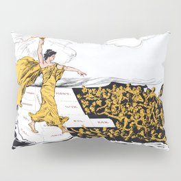 The Awakening - Women's Suffrage Illustration, 1915 Pillow Sham