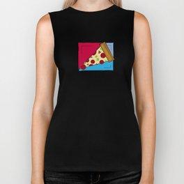 Geometric Pizza Biker Tank
