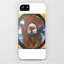 through the looking-glass iPhone Case