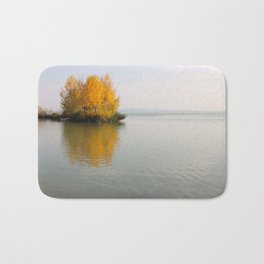Fire on Water Bath Mat